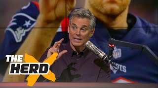 Colin on why the New England Patriots' system is better than that of the Seattle Seahawks | THE HERD