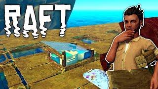 Raft #13 | Wasseraufbereitung verbessern | Gameplay German Deutsch thumbnail