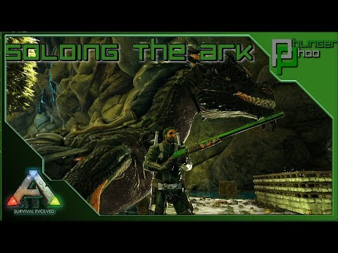 Soloing The Ark S4E156   ASCENDED CRAFTING   NEW LONGNECK