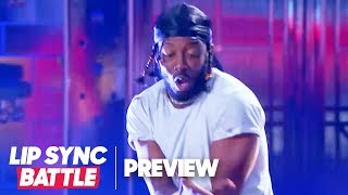 Brandon Micheal Hall Transforms into Kendrick Lamar | Lip Sync Battle Preview