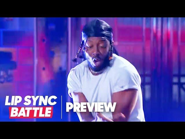 Brandon Micheal Hall Transforms into Kendrick Lamar | Lip Sync Battle Preview