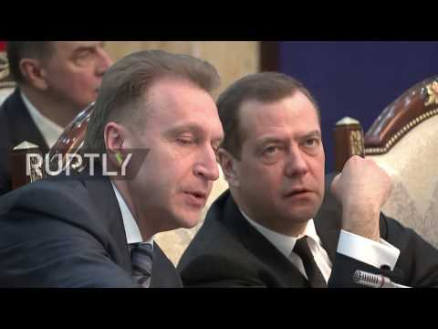 Kyrgyzstan: Medvedev accuses Belarusian PM of 'blackmail' over gas payments