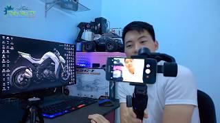 Gimbal ZHIYUN Smooth 4 Test Trên Android | Đánh Giá Ưu & nhược Điểm Sau 1 Tuần Sử Dụng