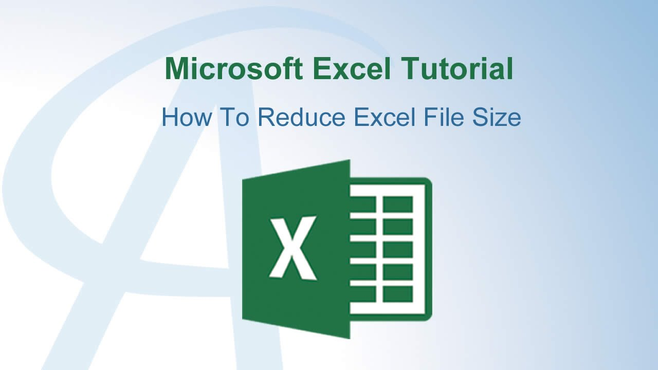 How to reduce image size in excel