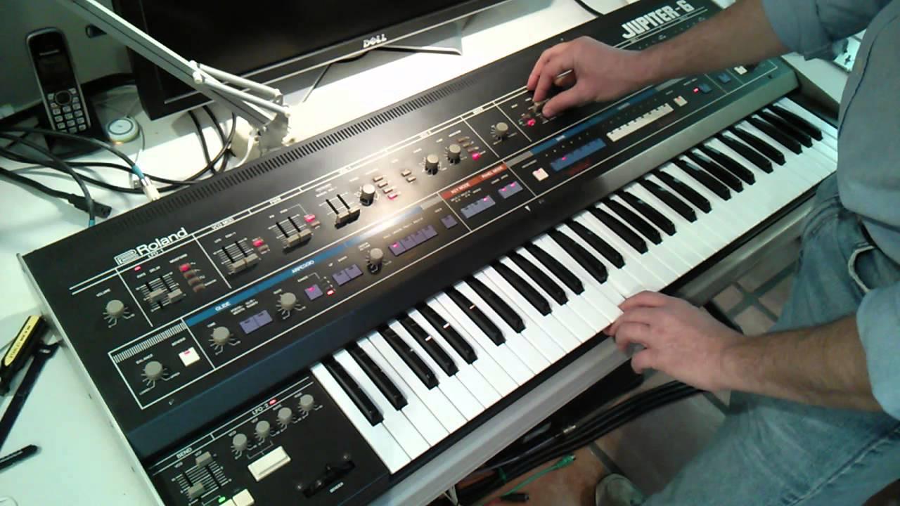 Roland Jupiter 6 - In-Depth Demo (Part 1) - ymarcc