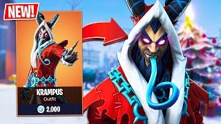 *NEW* KRAMPUS SKIN & FROZEN LEGENDS BUNDLE!! // Pro Fortnite Player // Fortnite Live Gameplay