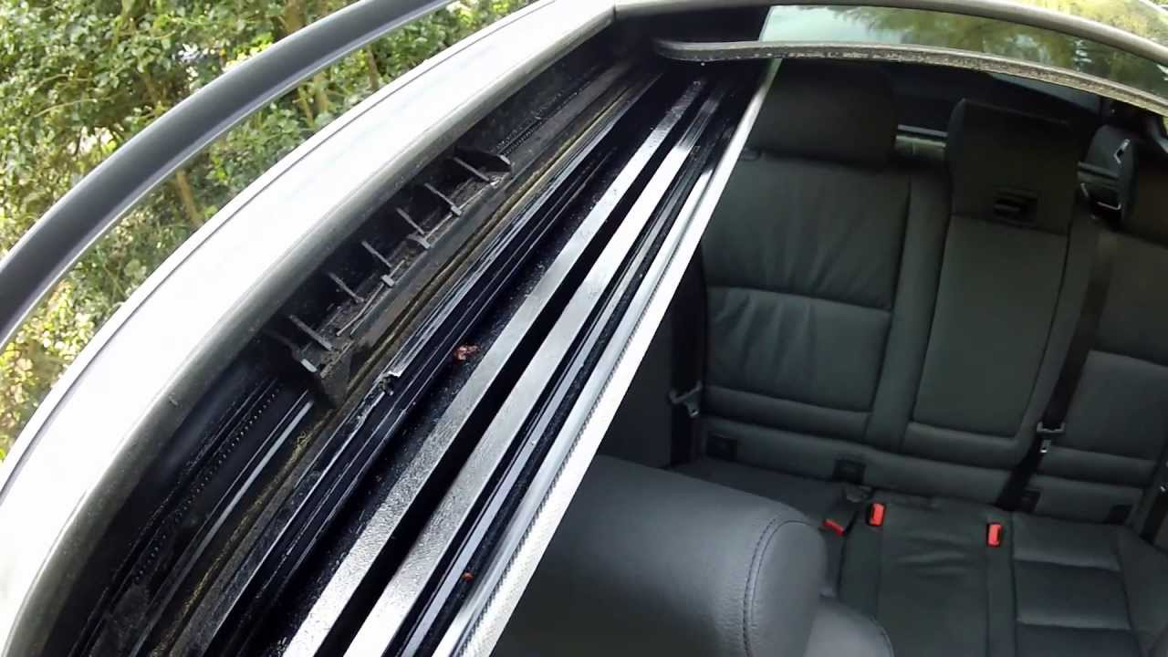 BMW Sunroof Moonroof Panoramic Problems TILT FIX PART II