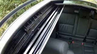 BMW Sunroof, Moonroof, Panoramic Sunroof Problems, TILT FIX PART II