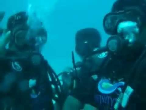 scuba diving at Cinque island, Andaman (1)
