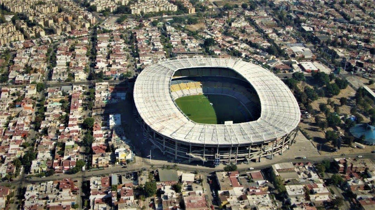 Estadio Jalisco - Guadalajara Mexico - YouTube