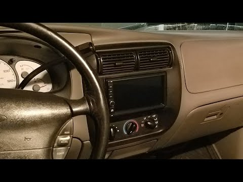 Android Double Din Stereo Installation In Ford Ranger & Explorer 5.0