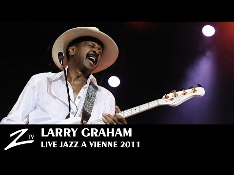 Larry Graham - Jazz à Vienne 2011 (Official)