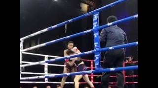 Farida Okiko (TigerMuayThai) vs Dongguan @ WLF kickboxing China