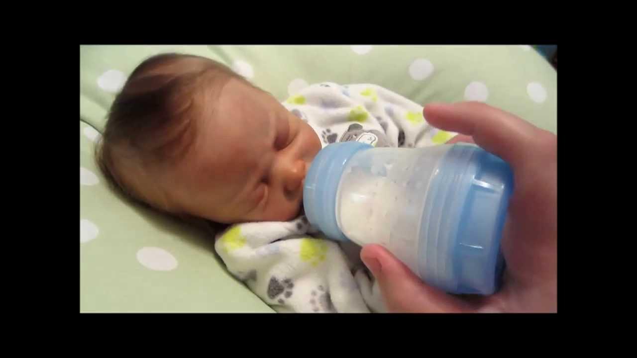 Day In The Life Of Newborn Caden Reborn Baby Youtube
