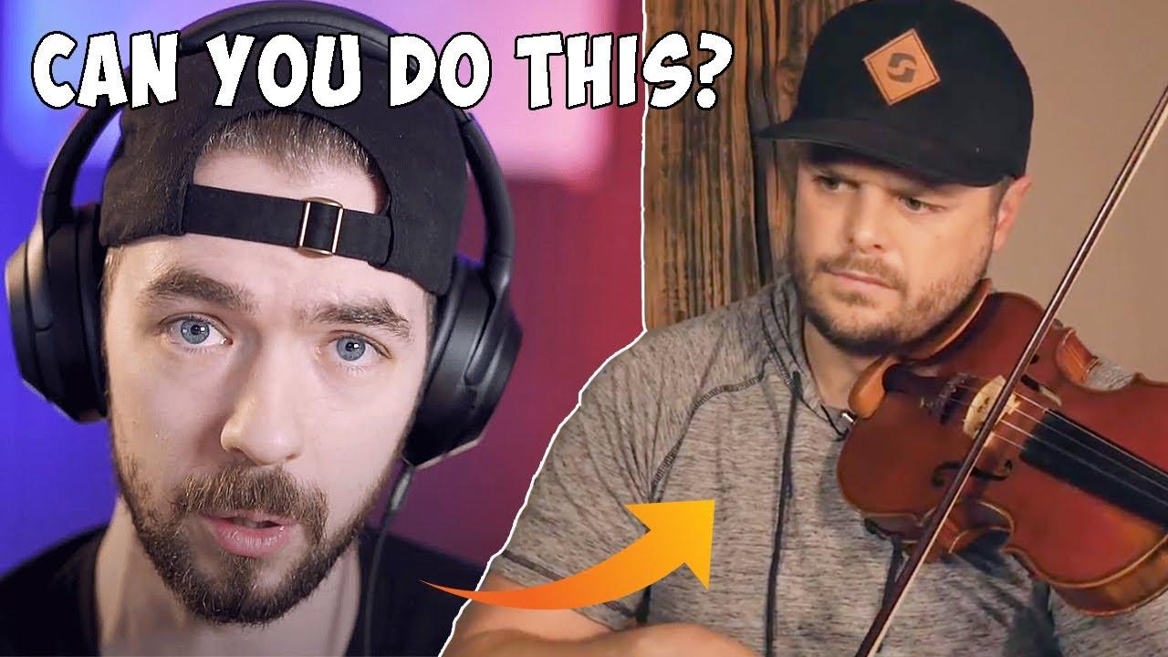 JackSepticEye Challenged Me to Play THIS on Violin...