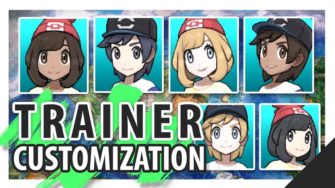 Pokemon Sun Pokemon Moon Trainer Customization Discussion W