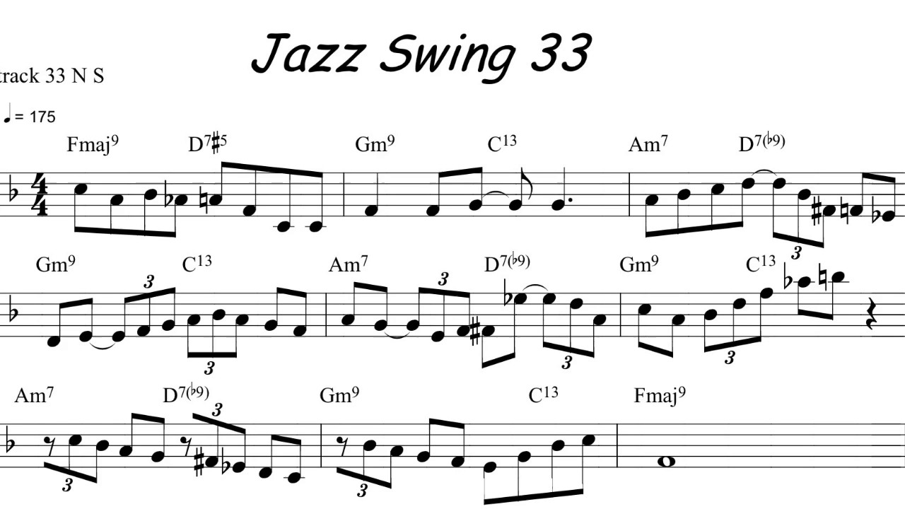 Jazz Sax Riff of the Day