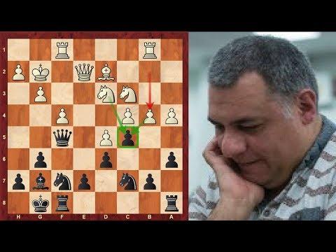 Chess Over the Board Game: Kingscrusher OTB Game : Black vs International Master in Kings Indian