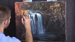 Vidio bimbingan melukis alam kevin