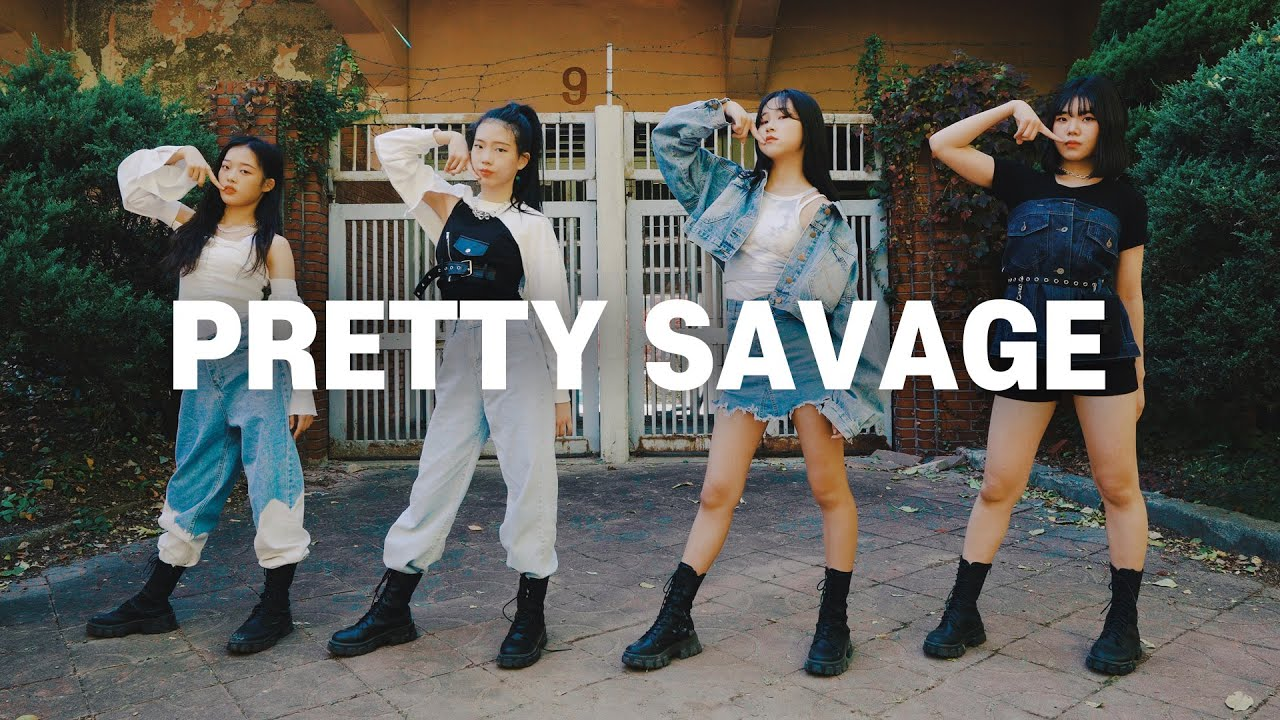 [Kpop] BLACKPINK(블랙핑크) 'Pretty Savage' Dance Cover 커버댄스
