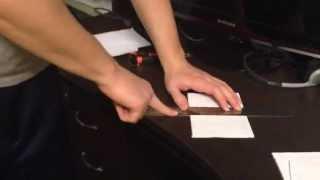 Черновики из старой бумаги — как быстро нарезать бумагу, нарезать стопку бумаг А4(, 2015-01-31T11:16:00.000Z)