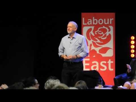 Jeremy Corbyn and John McDonnell... Norwich 21 10 17