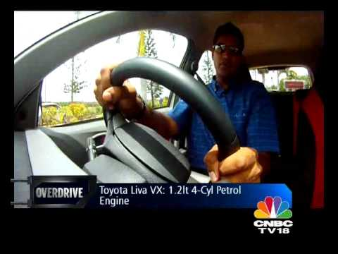 Toyota Etios Liva driven