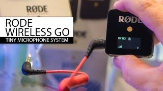 RODE Wireless Go Microphone. First look + sound test