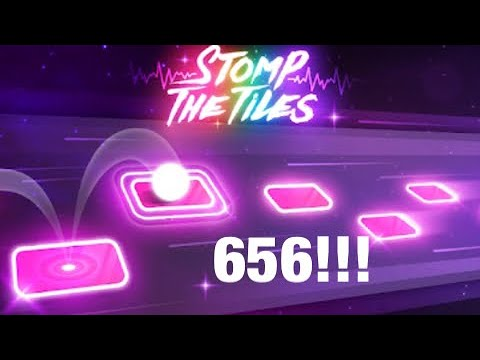 Tiles Hop Dead of the Night (VERSION TWO) SCORE 656!