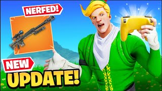 Controller & Heavy Sniper NERFED?! (New Update)