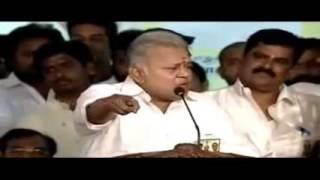 Radha Ravi's campaign speech for Nadigar Sangam Elections
