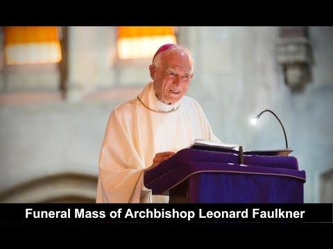 Funeral Mass Of Archbishop Leonard Anthony Faulkner