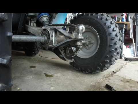 POLARIS 250 TRAIL BOSS CHAIN ADJUSTMENT - YouTube