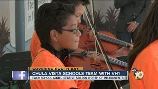 Chula Vista Elementary School District teams up with VH1