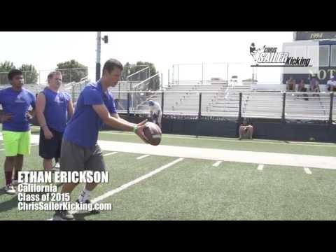 Ethan Erickson, 2013 Underclassmen Invite Event
