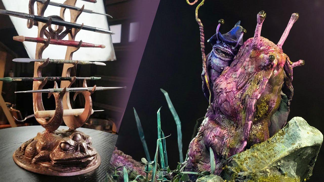 I Have 2̶4̶ 36 Hours To Kitbash a Slug Wizard idk   Vlog 004