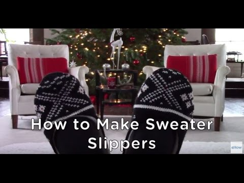 d0030d68fe3 DIY Cozy Sweater Slippers
