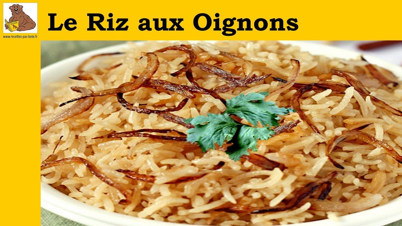 Le riz aux oignons rapide facile inratable youtube - Comment cuisiner les crevettes congelees ...