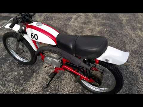 Kawasaki KE100 build