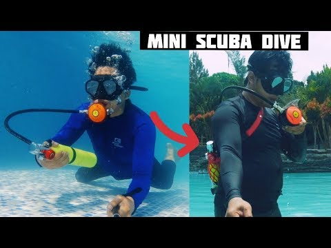 Alat Selam Mini Kualitas Pro - Mini Scuba Dive