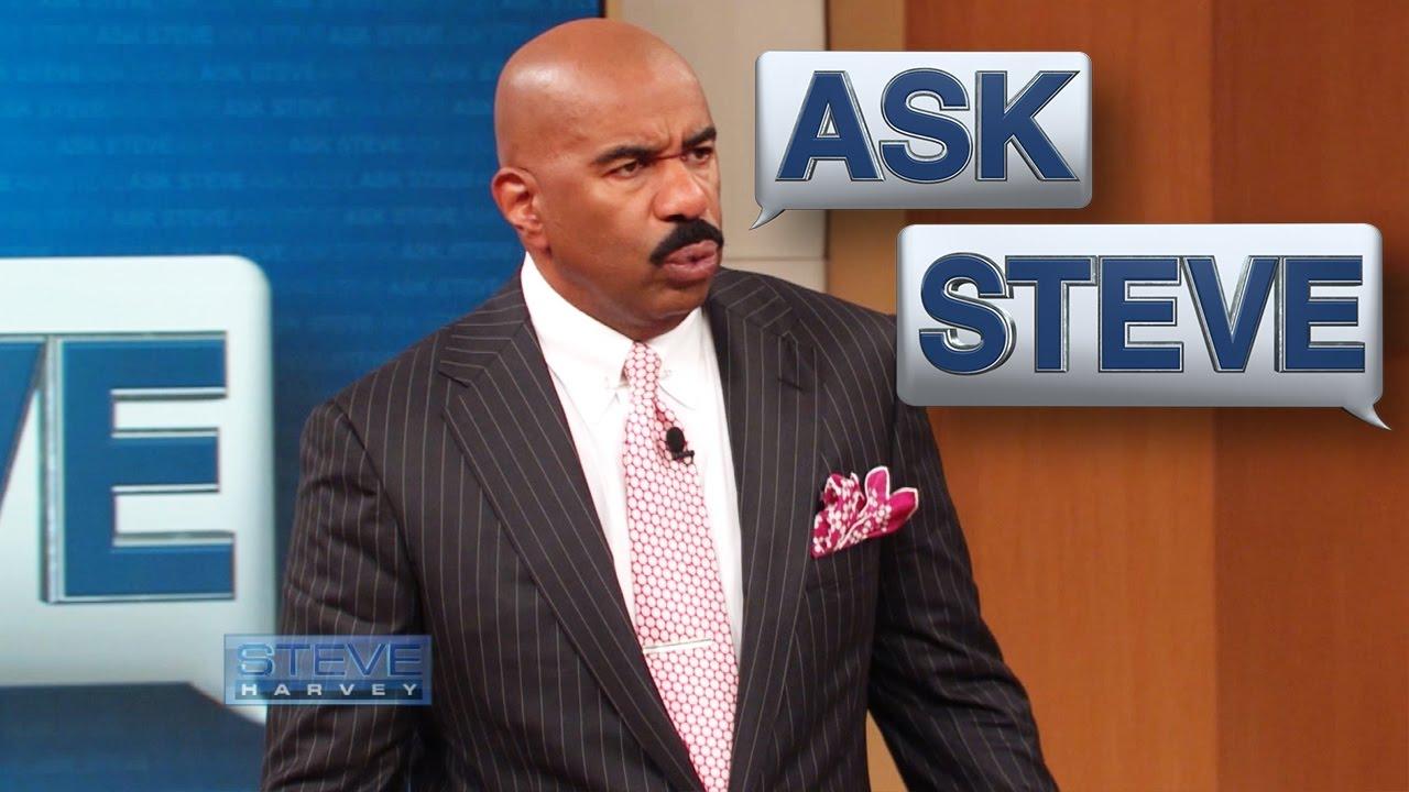Ask Steve: Get Cho Hands Off of ME!!! || STEVE HARVEY - YouTube