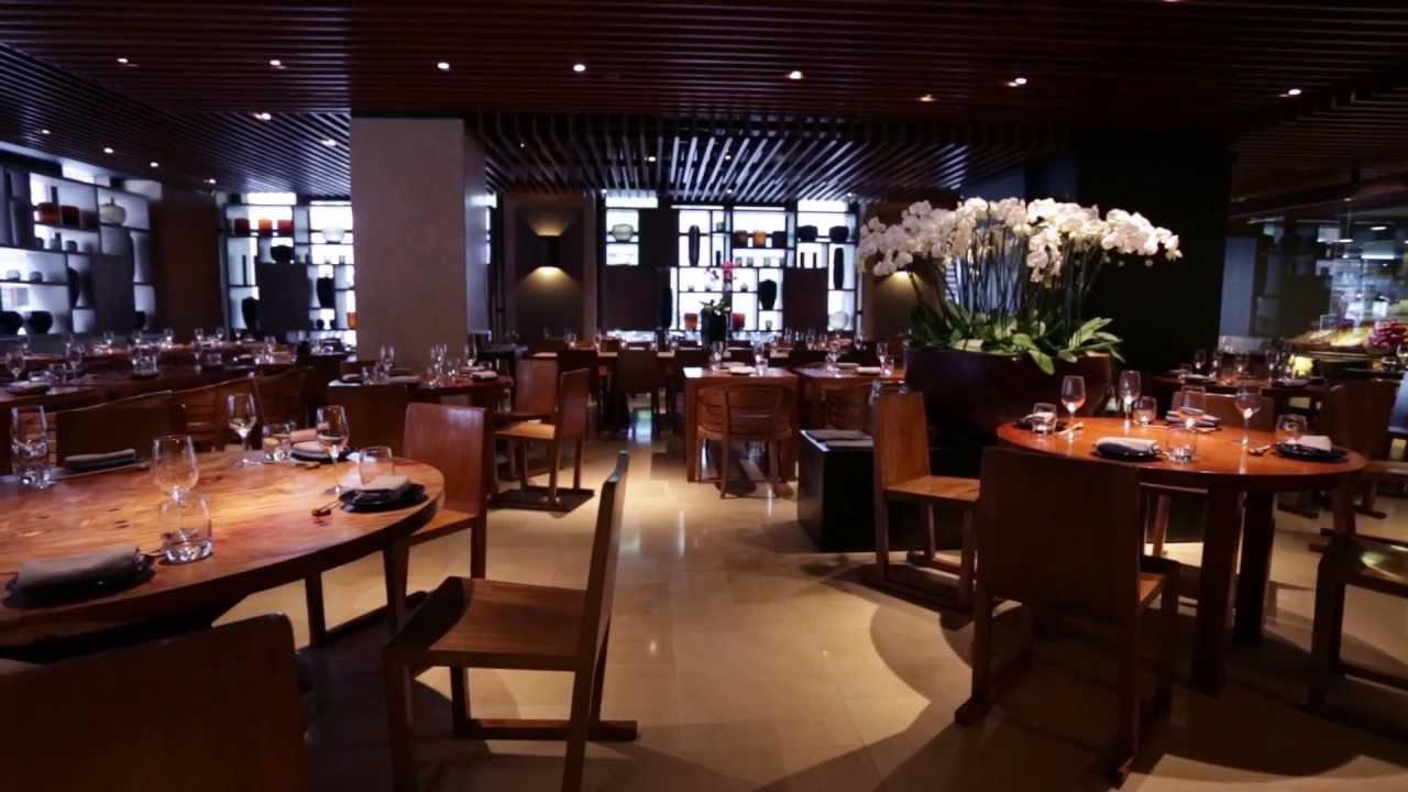 Novikov Restaurant  Bar London  YouTube
