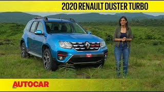 2020 Renault Duster Turbo review - 156hp petrol engine for hardy SUV | First Drive | Autocar India