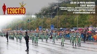 La Legión en Madrid. 12 de octubre 2016 / Día de la Fiesta Nacional