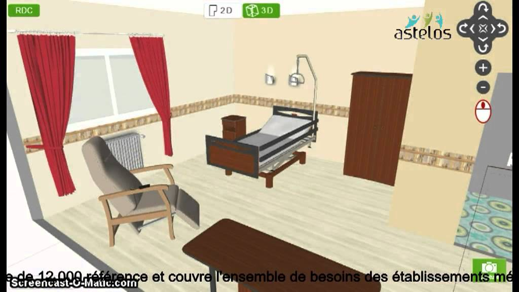 Conception 3d et am nagement chambre youtube for Conception 3d appartement