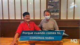 Marco Beteta impulsa una campaña con la que busca que la gente regrese a consumir a los restaurantes con la.finalidad de que la industria restaurantera salga de la crisis provocada por la.pandemia del coronavirus