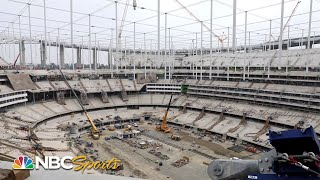 Peter King tours new Los Angeles stadium for Rams & Chargers | NBC Sports