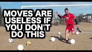 The TRUTH about Soccer Moves | How to dribble a soccer ball with the best soccer moves