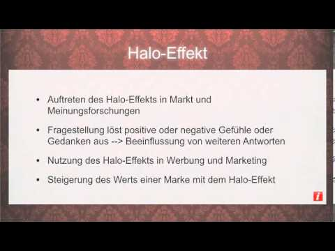 Halo Effekt Youtube