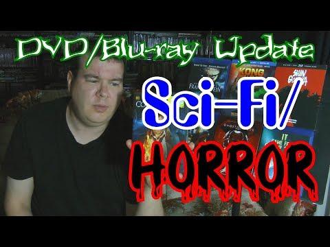 Sci-Fi/Horror DVD/Blu-ray Update!